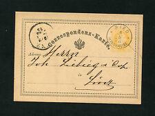 """Österreich - """"Ried"""" Oberösterreich 1875, Ganzsache    (#626)"""