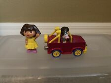DORA THE EXPLORER DIE CAST 4X4 WITH BOOTS TAKE ALONG FROM LEARNING CURVE