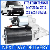 FORD TRANSIT MK7 2.2 (FWD) & 2.4 TDCi TD DIESEL 2006-2014 NEW STARTER MOTOR