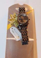 Details Quartz Base Metal Bezel Pewter Metallic WristWatch Watch