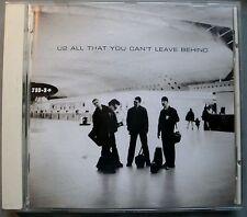 █► CD U2 All That You Can't Leave Behind 2000 11 Tracks CIDZU212 Island 548285-2