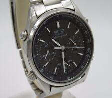 """J930 ⭐⭐ """" Seiko Speedmaster Cronógrafo"""" James Bond Reloj de Pulsera 7A28-702A ⭐⭐"""
