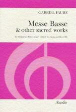 Messe Basse And Other Sacred Works Ssa, Piano Accompaniment, Organ Accompanimen