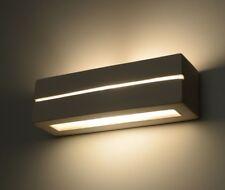 Vega Line E27 Keramik Wandlampe Keramische Wandleuchte Rechteck weiß Beleuchtung
