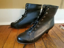 Steampunk Victorian Lace-up Boots US 9M (Eur 41)