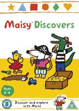 MAISY DISCOVERS (2012) 11 -EPISODES CHILDREN FAMILY BRAND NEW & SEALED UK R2 DVD