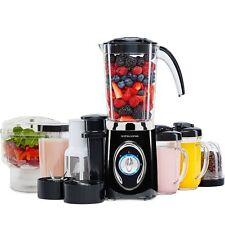 Andrew James 5 in 1 Black Blender Smoothie Maker Fruit Juicer Mini Chopper