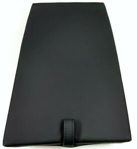 NEW GENUINE AUDI A4 A5 B8 REAR CENTRE SEAT BLACK LEATHER ARMREST 8T0885875BE 25D