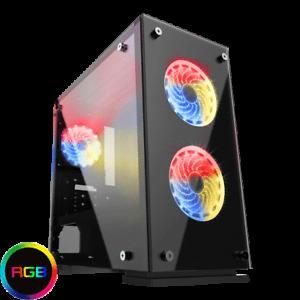 6-Core Gaming AMD Ryzen 5 1600 🚀 16GB Ram ➕ 256GB SSD ➕ 1TB HDD ➕ GeForce GT710