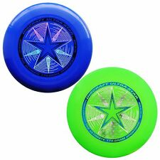 NEW Discraft ULTRA-STAR 175g Ultimate Frisbee Disc (2 Pack) BLUE/GREEN