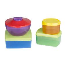 Lunch Box 13 Pezzi Scatola Contenitori Per Pranzo Box Cibo Viaggio Multicolore