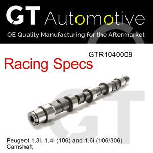 RACING CAMSHAFT for PEUGEOT 1.3i 106 Rally 1.4i 106 1.6i 106 1.6i 306 TU2
