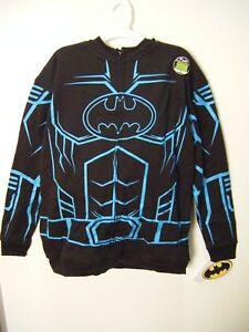 Batman Masked - Full-Zip - Glow in the Dark - Hoodie, Sweatshirt Boys/Youth, XL