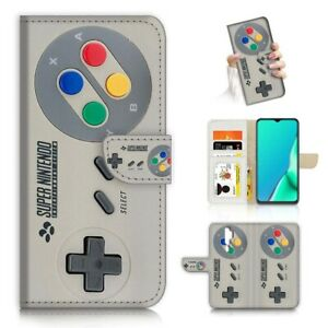 ( For Oppo A9 2020 ) Wallet Flip Case Cover PB21122 Video Game Controller