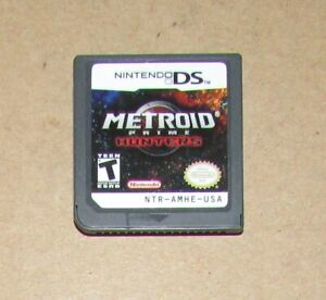 Metroid Prime: Hunters (Game Only) Nintendo DS Fast Shipping! Authentic