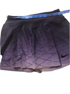 Nike Dri Fit Women's Elastic Waist Tennis Pickleball Skort Skirt XS Extra Small