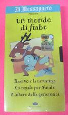 VHS film IL CERVO E LA TARTARUGA UN REGALO PER NATALE L'ALBERO (F107) no dvd
