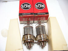 Gm SET PAIR 2 RCA 6146A YAESU SWAN Transceiver Vacuum Tubes Replace Part NOS NIB