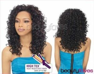 BELLA - OUTRE QUICK WEAVE SYNTHETIC HAIR HALF WIG LONG CURLY STYLE
