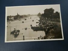 Postcard of River from Kingston Bridge (1926 RP posted)