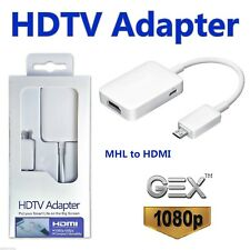 MHL Micro USB 2.0 to HDMI HDTV Adapter for Samsung S2 S3 S4 S5 Note 4 3 2