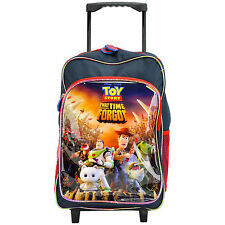 CHILDRENS LARGE PREMIUM DISNEY TOY STORY TROLLEY BAG SUITCASE NEW