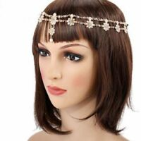 Accessories Piece Lady Forehead Jewelry Headpiece Hair Chain Tassel Metal Band
