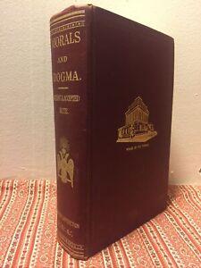 Albert Pike ~ Morals and Dogma FREEMASONRY OCCULT SYMBOLISM RITES MATHEMATICS 66