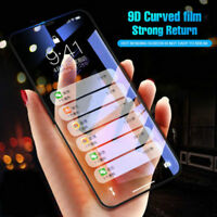 Luxury 9D Curved Edge Full Cover Tempered Glass Film For iPhone X 6 7 8 Plus