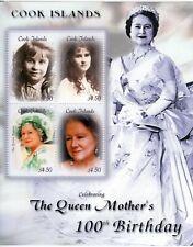 Cook Islands 2000 Queen Mother Birthday sheetlet UM (MNH)
