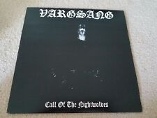 Vargsang Call nightwolves RARE Gray white Splatter vinyl LP LIM 100! Taake
