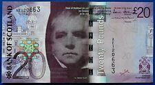 More details for bank of scotland 2007 £20 (twenty) pound banknote prefix ae.            ch14-178