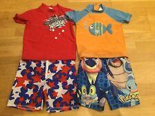 Boys Holiday Swimwear Bundle Age 2-3 Next Wevezone Pokemon Rash Vest Swim Shorts