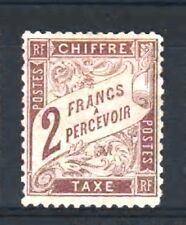"FRANCE STAMP TIMBRE TAXE N° 26 "" TYPE DUVAL 2F MARRON "" NEUF (x) TB A VOIR R315"