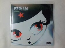 MUSETTA Peace and melody remixes cd singolo PR0M0 RARISSIMO