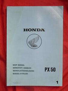 Honda PX50 PX 50 50PX revue technique manuel service atelier shop manual 1980