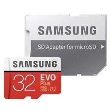 SAMSUNG EVO Plus 32gb Micro SD card and Adapter