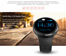 Z10 3G WiFi SmartWatch Phone Quad Core 16GB Heart Rate For iphone Android Silver