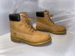 """Timberland Waterproof 6"""" Boot size 10"""