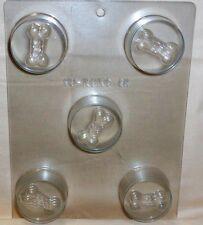 Dog Bone,Puppy Cookie Candy Mold,Chocolate/Oreo,Clear Plastic, C/K Products