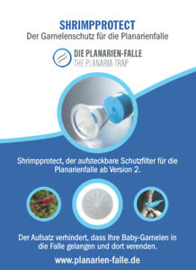 Shrimpprotect für Planarienfalle
