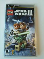 Like New Playstation Portable PSP Lego Star Wars 3 III - Free Postage