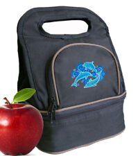 Unique DOLPHIN Lunch Bag Lunchbox Cooler Bags
