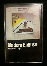 "1984 MODERN ENGLISH ""RICOCHET DAYS"" CASSETTE TAPE SIRE RECORDS"