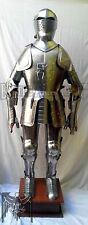 Medieval Knight Suit of Armor 15th Century Combat Full Body Armour Sui