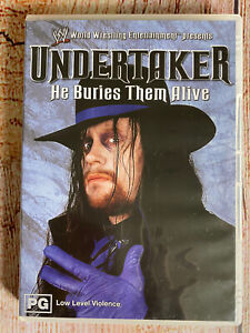 WWE Undertaker: He Buries Them Alive DVD ~ R1