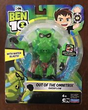 "NEW Ben 10 - OVERFLOW- OUT OF THE OMNITRIX - 5"" Action Figure Playmates Toys"