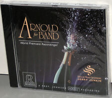 Reference Recordings CD RR-66: Malcolm Arnold For Band - Premiere - USA 1995 SS