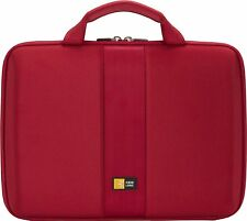 "CASE LOGIC HARD EVA CASE MACBOOK AIR 7""- 11"" TABLET NOTEBOOK LAPTOP iPAD RED"