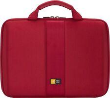 "CASE LOGIC HARD EVA CASE MACBOOK AIR 7""- 11"" TABLET NOTEBOOK LAPTOP iPAD RED"
